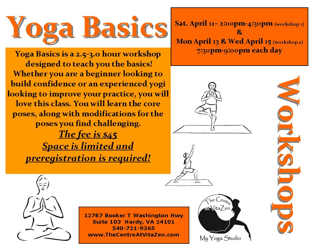 yoga basics workshop sign 04 2015